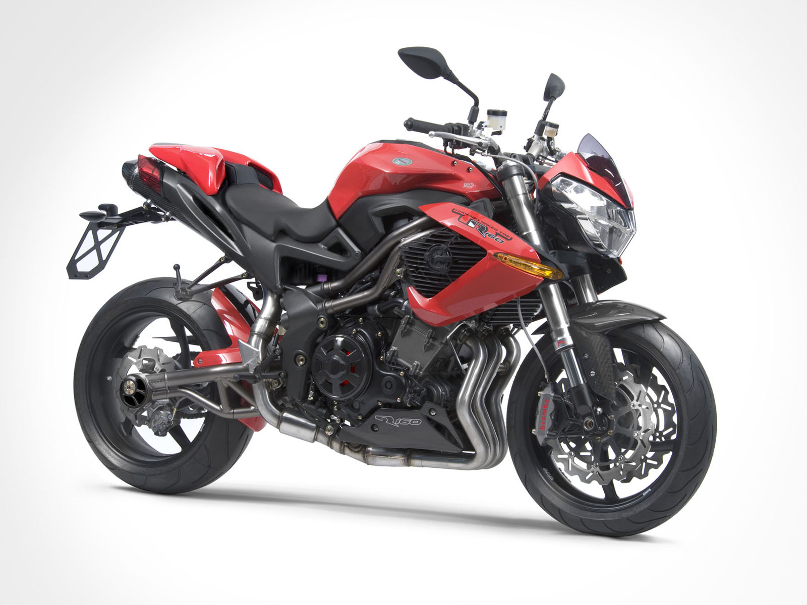 2011 Benelli Tnt R160 Red View
