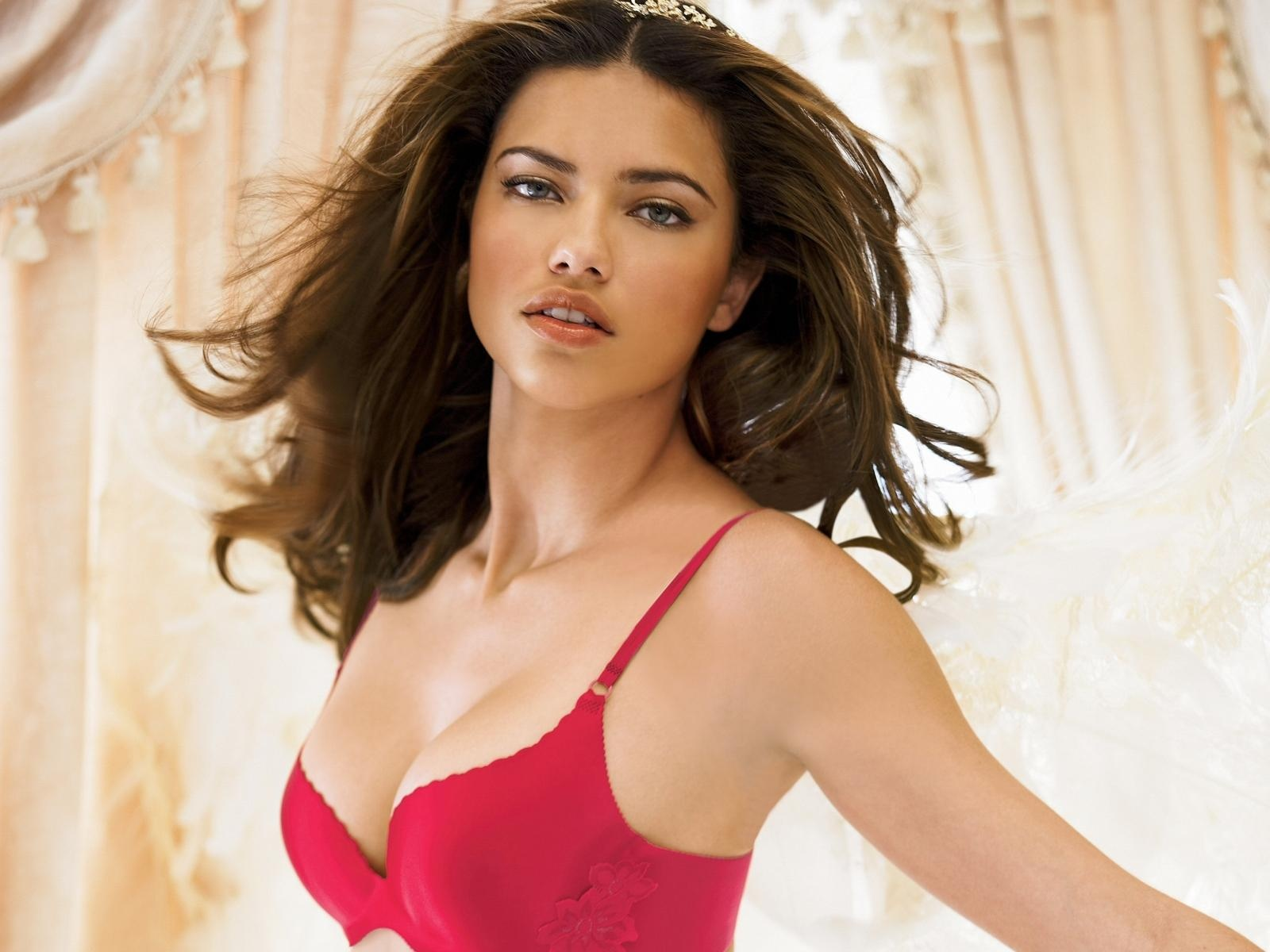 Adriana With Red Top