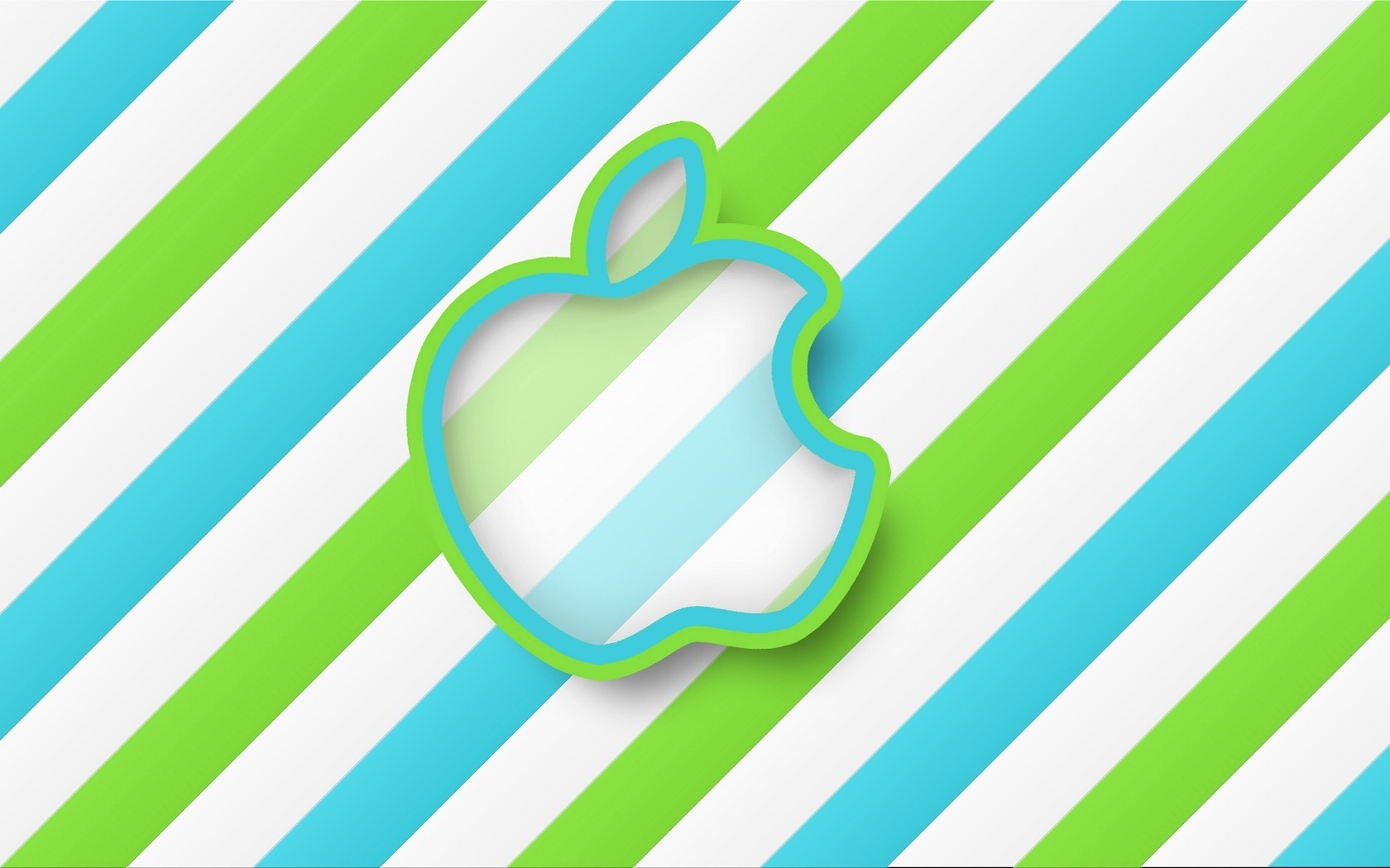 Apple With Stripes