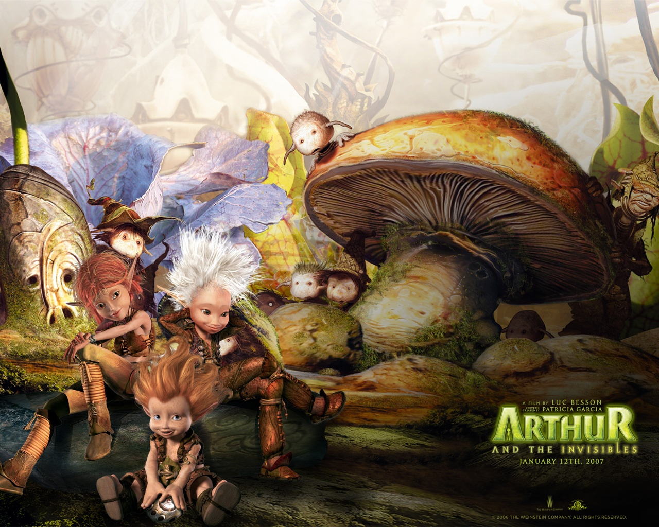 Arthur The Invisibles Animation