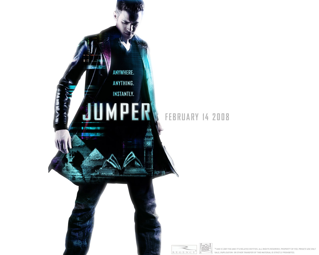 Jumper The Movie Poster
