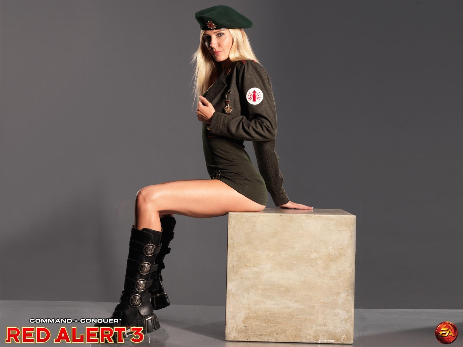 Red Alert 3 Army Girl 2