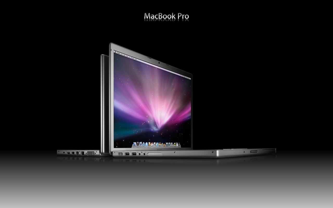 Reflection Of A Macbook